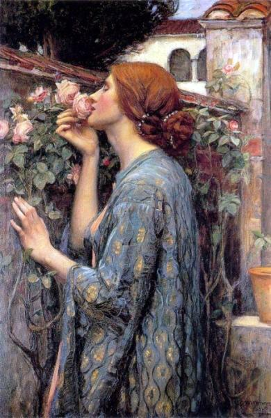 JW Waterhouse The Soul of the Rose